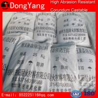 Refractory Castable Refractory Material Refractory High Abrasion Resistant Corundum Castable