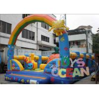 Wholesale Customized Inflatable SpongeBob Kid Playground Inflatable With Arch from china suppliers