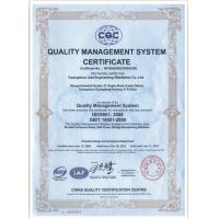 LIDA Engineering Machinery CO,LTD Certifications