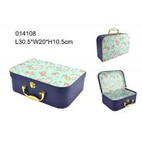 Wholesale Elegant FSC Handmade Paper Packaging Box , Packaging Paper Box With Handle from china suppliers