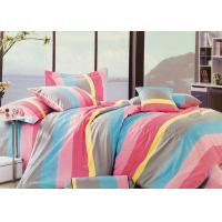 Wholesale Queen Size 100 Cotton Bedding Sets for Girls , Red / Yellow / Blue / Grey from china suppliers