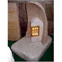 Wholesale Granite Carving with Night Light Insert, Stone Scuplture from china suppliers