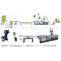Wholesale Recycle PA / PE / PP / ABS Plastic Granulating Machine , Granules Extruder from china suppliers