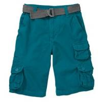 Wholesale TR Boys' Belted Double Cargo Shorts from china suppliers
