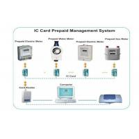 Wholesale Stable Prepaid Electricity System , IC Card Reader / Writer Prepaid Water System from china suppliers