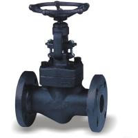 Wholesale 2 Inch Forged Steel Valves , OS&Y Flanged Solid Wedge Gate Valve from china suppliers