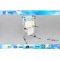 Wholesale Adjustable Solid Free Standing Clothes Drying Rack Modern for Garden / Bedroom from china suppliers