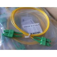 Quality 3D Passed Optical Fiber Patch Cables SC / UPC - SC / UPC single mode jumper cord for sale