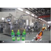 Wholesale Automatic 3 In1 Pet Bottle Carbonated Drink Filling Machine from china suppliers