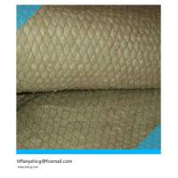 Buy cheap Sound proof rockwool blanket with wire mesh from wholesalers