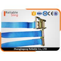 Wholesale 20 Ft Blue E Track Ratchet Straps for Quick Tension Release Truck Trailer Loads from china suppliers