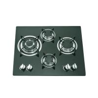 Wholesale Glass Top 4 Burner Gas Stove Top 590x510mm With Thermocouple Type Safety Device from china suppliers