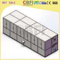 Wholesale Stainless Steel 304 Ice Cube Making Machine / R22 R404a Refrigerant Commercial Ice Maker from china suppliers