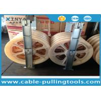 Buy cheap Large Diameter Bundled Conductor Pulley Power Line Stringing Equipment Block With Five Nylon Wheel 660mm from wholesalers