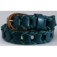 Buy cheap Braided Korean lady real leather fashion belt from wholesalers