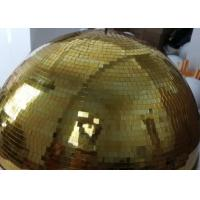 Wholesale 120CM Golden Mirror Ball Disco Stage Lights Customize Color Crystal Magic Rotating Ball from china suppliers