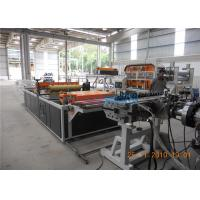 Wholesale UV Resistant Roof Panel Roll Forming Machine , PVC Plate Electric Rolling Machine from china suppliers