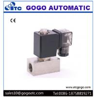 Wholesale Direct Acting Water Solenoid Valve Normally Closed Stainless Steel 0 - 10 bar Woking Pressure from china suppliers