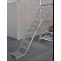 Wholesale Anti Slip Single Section Aluminium Ladders Scaffolding Ladder For Industrial from china suppliers