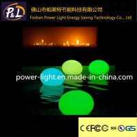 Wholesale Glowing lluminated Plastic LED Pool Stone Light from china suppliers