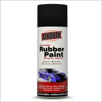 Wholesale 400ml Normal Color Removable Rubber Paint For Car Wheel Rim from china suppliers