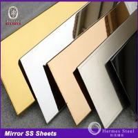 Wholesale China manufacturer black colored mirror stainless steel sheets in foshan factory price from china suppliers