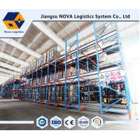 Buy cheap Semi Automatic With Battery Operated Motor Drive In Shuttle Pallet Racking System from wholesalers