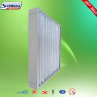 Buy cheap Ventilation Washable Pleated Panel Air Filters Industrial With High Efficiency from wholesalers