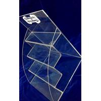 Wholesale 4 Tiers 3mm Acrylic Stationery Holder Transparent for Umbrella Magazine from china suppliers