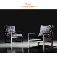 Wholesale Rubber Wood Dining Room Furniture Modern Arm Chair With Black Leather Upholstery from china suppliers