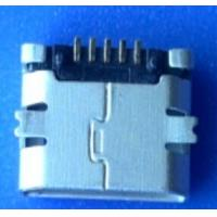 Wholesale Alternative AMP Micro usb connector,5P,Female, SMT,non locator from china suppliers