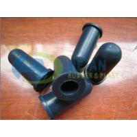 Wholesale 65 Shore A Molding Rubber Parts , Silicone Protect And Covering Cap ROHS / REACH from china suppliers