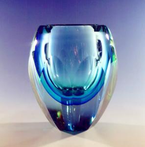 Wholesale Handblown glass flower vases , handblown glass flower bowls ,DJ-7011 from china suppliers
