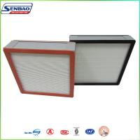 Wholesale Industry Hepa Air Filters Aluminum Frame Mini Pleated Panel from china suppliers