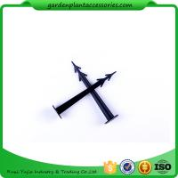 Wholesale Plastic Screw In Garden Ground Anchor For Netting Fix 27cm Length Black Plastic Garden plant accessories from china suppliers