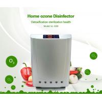 China Multi-function Anion Ozone purifier air sterilization water disinfection touch screen displayer remote control on sale