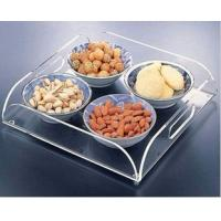Wholesale customized acrylic restaurant service tray from china suppliers