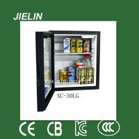 Wholesale 30L no compressor absorption technology black color small fidge mini refrigerator from china suppliers