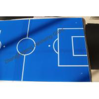 Wholesale 5MM green and blue table football tempered glass with CCC certificate from china suppliers