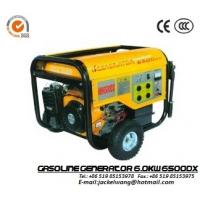 Wholesale GJ6500DX 22L 6.0kw Gasoline Powered Generator with Recoil (electric) Starter from china suppliers
