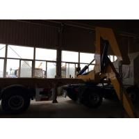 Wholesale SGS Truck Mounted Cranes Equipment For 3 Axles Semi Trailer Lifting 40ft Container from china suppliers