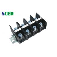 Wholesale Power Terminal Block 32.00mm 175A Black Screw Mount Connection from china suppliers