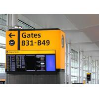 Wholesale SMD Flight Information Display Environmental Monitoring , Airport Flight Screen from china suppliers