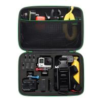 Wholesale Black Large Camera Carrying Case , Portable Nylon EVA Travel Camera Case from china suppliers