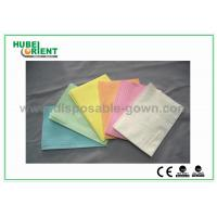 Wholesale CE ISO Certificate Dental Disposable Apron With Tissue Coated PE Materials , 39*68cm from china suppliers