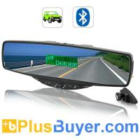 Wholesale Bluetooth Rearview Car Mirror with Speaker and MIC from china suppliers