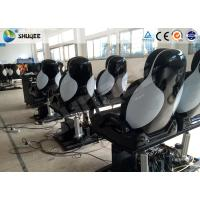 Wholesale 3 DOF Movement Fiberglass Chair 5D Movie Theater System 12 Seats For Park from china suppliers