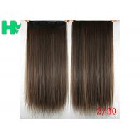 Wholesale Long Silky straight Synthetic Hair Extensions Double Drawn Strong Hair Weaving from china suppliers