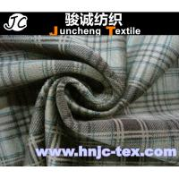 Wholesale 100% polyester plaid cotton imitation velvet fabric/grid printing Imitation Cotton Velvet from china suppliers
