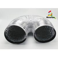 Wholesale Double Layer Flexible Aluminum Air Duct 150mm For House Ventilation System from china suppliers